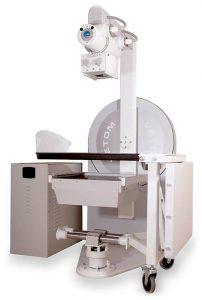 Универсальный рентгеновский аппарат с 3D томографией, рентгенографией и рентгеноскопией (три в одном)