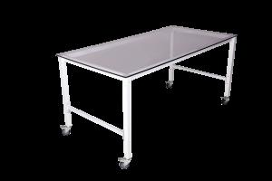 Рентгенопрозрачный стол с минимальным поглощением излучения