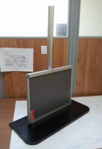 Настольный штатив для рентгеновских кассет и детекторов