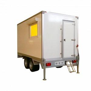 Универсальный рентгенодиагностический ветеринарный транспортный модуль на базе автоприцепа